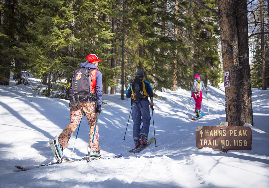 Apparel Testing and Spring Skiing in North Routt County