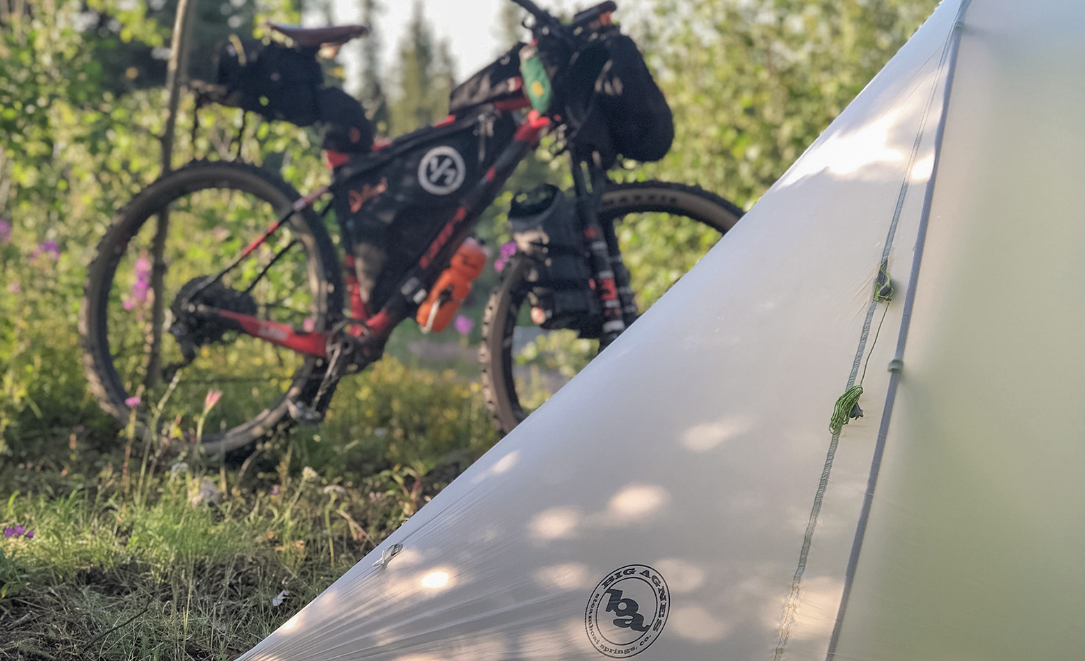 Bikepacking through Alaska has it's ups and downs. Mostly ups, but downs too.