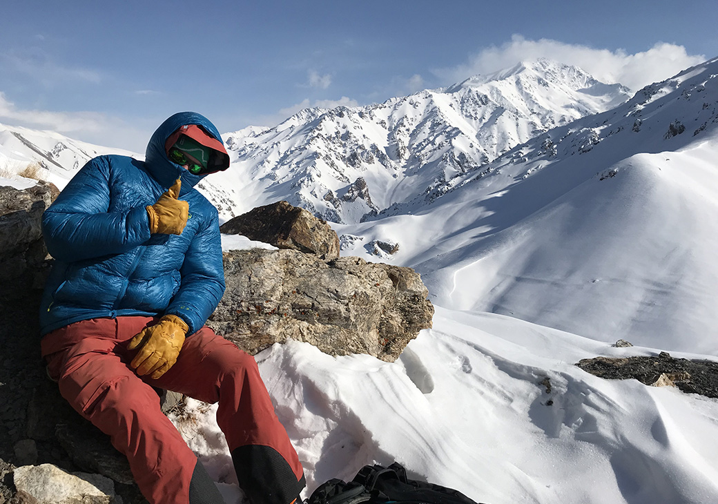 Afghanistan's alpine conditions are just like everywhere else - cold.