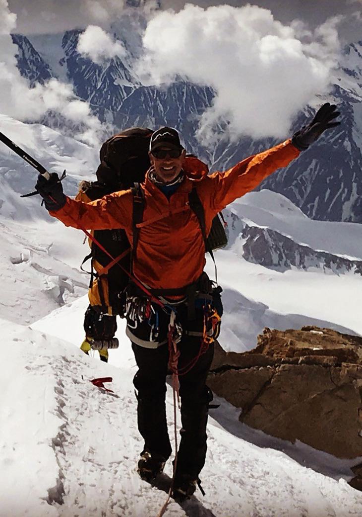 NFL Player turned mountaineer, Mark Pattison is on a mission to summit the tallest peak on each continent.